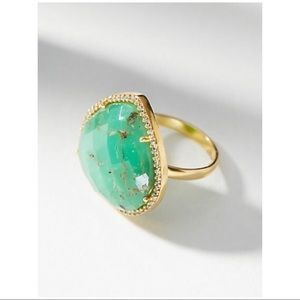 NWT Anthropologie Victoria Cocktail Ring